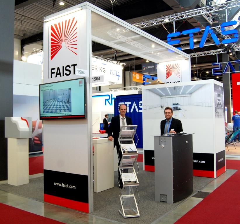 Messestand TES_19